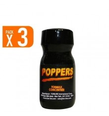 Pack of 3 Poppers