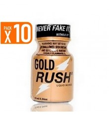 PACK OF 10 GOLD RUSH (10 ml)